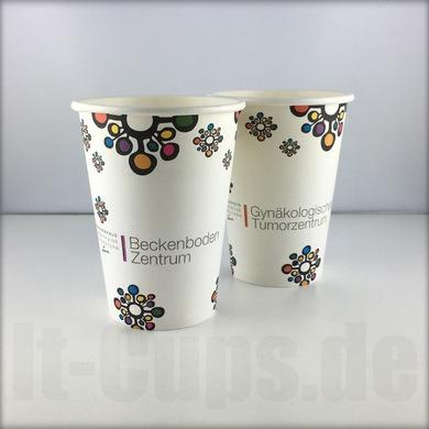 26 Kaffeebecher to go bedruckt